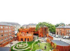 Escritório dinamarquês COBE projeta espaço infantil que oferece segurança e leveza