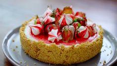 Nadiya Hussain Eton mess cheesecake recipe