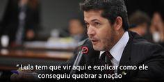 """O deputado federal e delegado WaldirSoares, afirmou na câmara dos deputados que Lula é """"o maior ladrão do país"""" e, ainda disse que a quadrilha que ele chefia, acabou com o Brasil. O delegado aind…"""