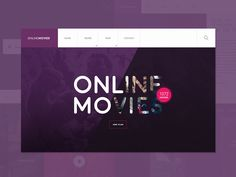 Microsite to watch movies online. I works on responsive version so that it is easy to use to users MOBILE VERSION - Genre  you can follow my works in process on INSTAGRAM