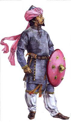 Arab cavalryman, early XII c.