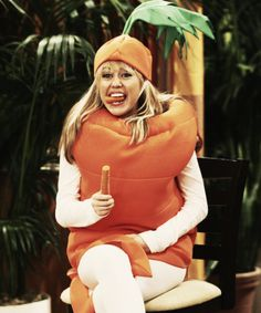 carrot, hannah montana, miley cyrus - image #729573 on Favim.com