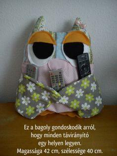 Baglyos távirányító tartó (Owl)