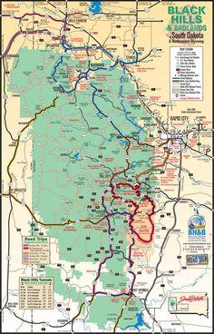 The very best Black Hills map around!