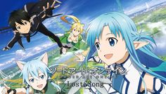 Sword Art Online Lost Song novo trailer - SAGA Entretenimento