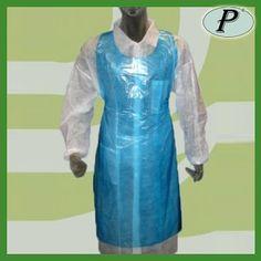 Vestuario desechable impermeable a la vez, para no manchar-se. Puede ser utilizado por encima de la ropa. Más información en: http://www.tplanas.com/epis/vestuario-desechable/619-delantales-desechables-azules.html