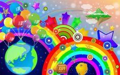 dibujos arcoiris - Buscar con Google