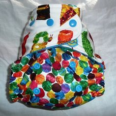 Very Hungry Caterpillar Cloth Diaper