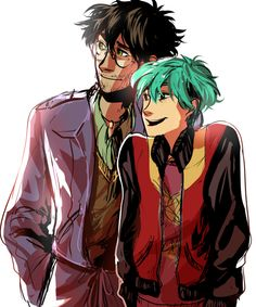 Harry Potter and Teddy Lupin