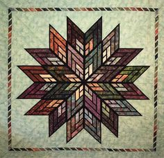 Fractured Star, Quiltworx.com, Made by CI Sandy Lieske