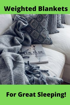Weighted blankets of various styles and colors that help you rest more comfortable and consistently throughout the night or your sleeping time. Weighted Blanket, Blankets, Wings, Rest, Sleep, Night, Colors, Blanket, Colour