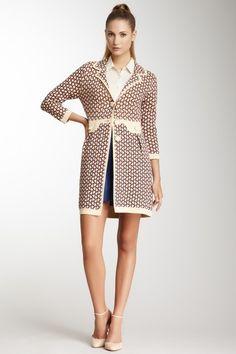 Orla Kiely Milano Print Long Sweater Blazer by Orla Kiely on @HauteLook