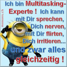- # really cool Braids Minions. Ich bin Multitasking-Experte # really cool Braids Happy Minions, Minions 1, My Minion, Minions Quotes, Minion Banana, Cool Braids, Tabu, Hip Workout, Story Of My Life