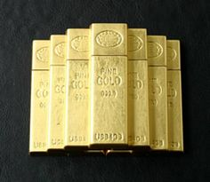 GOLD INGOT USB MEMORY $100
