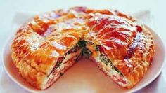 Egg And Bacon Pie, Egg Pie, Bacon Egg, Egg Recipes, Fish Recipes, Cooking Recipes, Savoury Recipes, Savoury Pies, Quiche Recipes