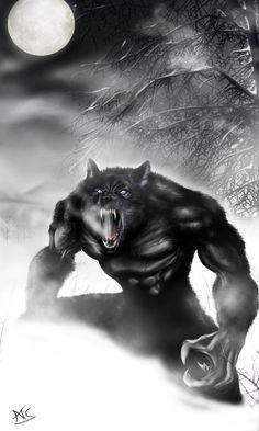 Werewolf PS by Scribbletati.deviantart.com on @DeviantArt