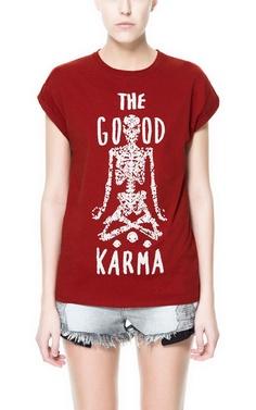 CAMISETA THE GOOD KARMA - Camisetas - TRF - ZARA España