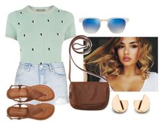 """""""Untitled #110"""" by i-love-modas on Polyvore featuring Oasis, Topshop, Aéropostale and Ray-Ban"""
