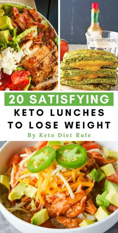 20 easy, healthy protein-packed satisfying keto lunches to lose weight. 20 easy, healthy protein-packed satisfying keto lunches to lose weight. Ketogenic Recipes, Low Carb Recipes, Diet Recipes, Healthy Recipes, Low Carb Lunch, Low Carb Diet, Clean Eating, Healthy Eating, Keto Lunch Ideas