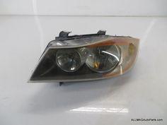 2006-2009 BMW 3 Series Sedan Left Front Headlight 33 63116942725 E90