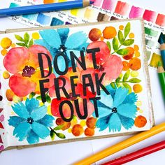 don't freak out, #watercolor #khadipaper #botanicalart#botanicalwatercolor#botanicalillustration#botanicalpainting#botanicaldrawing#florals#floraldrawing#flowerillustration#floralillustration#floralwatercolor#watercolorflowers Illustration Blume, Botanical Illustration, Botanical Art, Watercolour Painting, Watercolor Flowers, Watercolors, Floral Drawing, Indian Artist, Some Text
