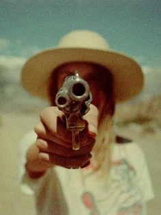 """selinaspower: """" Dana Trippe starring model Sierra wearing Lack of Color hats. """""""