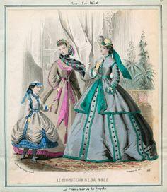 November, 1864 - Le Moniteur de la Mode