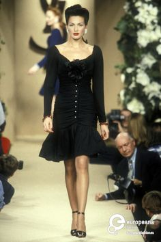 Yves Saint Laurent, Spring-Summer 1996, Couture