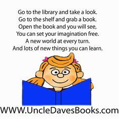 Books are doors into imagination!