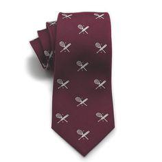 Sports club silk tie