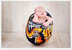 {Baby Portrait} Motorcycle Helmet