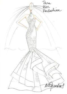 vestidos de noiva para kim kardashian