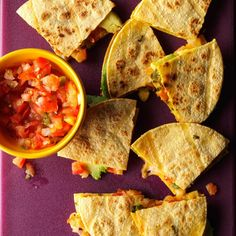 Avocado Quesadillas Recipe -Avocados give quesadillas some nutritional value and fortunately my son likes them. Thinly slice the avocado and add chicken or beef for extra protein.