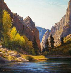 SOLD I Seasons Will Pass You By I 20x20 I Dix Baines I Fine Artist Original Oil Paintings I Mountains I www.dixbaines.com
