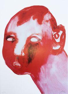 Kunst Fra Sjulle Kunstner Stine Schulstad arbejder med farverige og symbolske motiver A4 Mål:21 x 29,7 cm Varenummer: SJ004