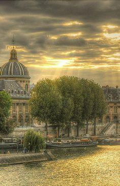 Morning light over the Seine ~ Paris, France