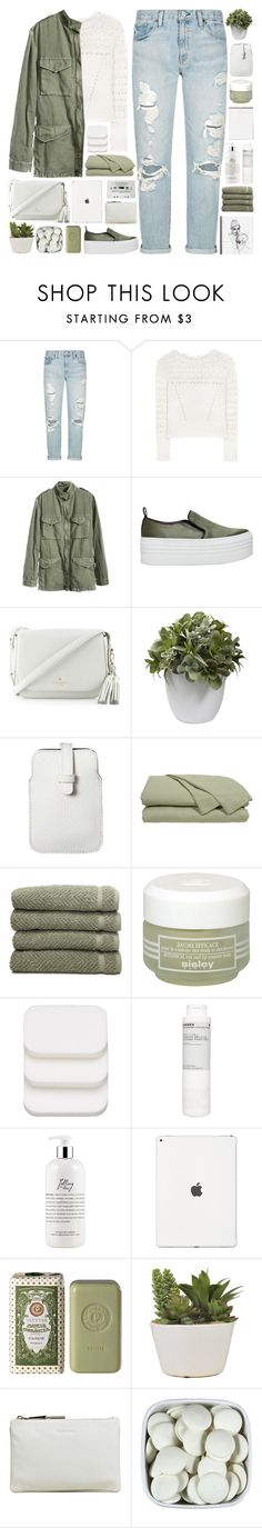 """""""#880"""" by giulls1 ❤ liked on Polyvore featuring Denim & Supply by Ralph Lauren, Oscar de la Renta, KG Kurt Geiger, Kate Spade, Nearly Natural, Mossimo, Linum Home Textiles, Sisley, COVERGIRL and Korres"""