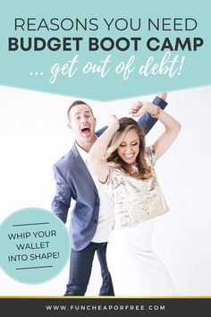 Are you sick and tired of being broke and tired? We have exciting news for you! Budget Boot Camp is BACK and better than ever! Here's everything you need to know about getting out of debt and living your best life – and why you need Budget Boot Camp!