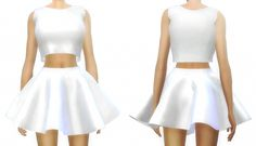 zhutra [SIMS 4] 'Melanie Martinez' Inspired Clothing