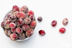 So Cute! boozy sparkling cranberries - bake.love.give.