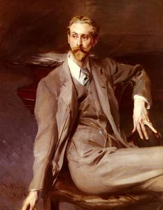 Portrait Of The Artist Lawrence Alexander (Peter) Harrison 1902. Giovanni Boldini