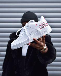 - Sneakers Nike - Ideas of Sneakers Nike - Custom Painted Shoes, Custom Shoes, Nike Custom, Sneaker Shop, Sneakers Fashion, Shoes Sneakers, White Sneakers Nike, Nike Shoes Air Force, Hype Shoes