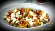 Sweety-Cook: Salat mit Feta und Oliven