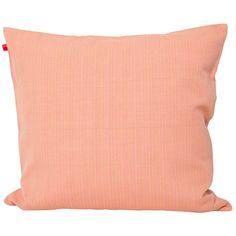 CAMILA Kuddfodral 50x50, rosa/gul