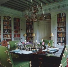 my dream English dining room