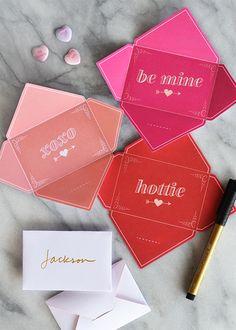 DIY - Valentine Cards - Free PDF Printables