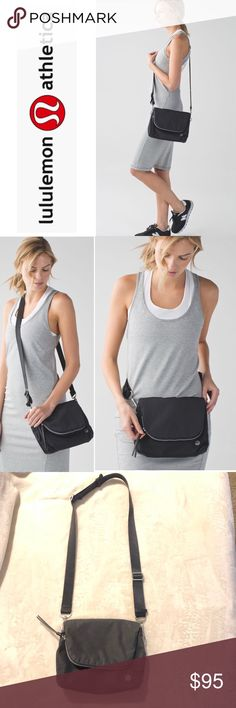 Party Om Bag (Black) Pre-owned in good condition no flaws, We like to think of this bag as a fanny pack with street cred. With multiple pockets and the option to wear it around our waist or cross-body, our hands are free for dancing and snapping photos.   Key features water-repellent fabric is durable and easy to wipe clean a larger zipper compartment and back pocket help keep valuables secure tested to hold 22kg (50lb)  Fit + function designed for: to-and-from dimensions: 20cm x 24cm x 8cm…