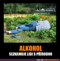 Alkohol - seznamuje lidi s přírodou Great Memes, Harry Potter Memes, Jokes Quotes, Pranks, Funny Photos, Haha, Funny Memes, Life, Design