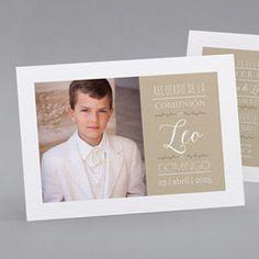 Recordatorios de comunión CN17-001 Leo, Polaroid Film, Instagram, Frame, Gabriel, Ideas, Eucharist, Communion Invitations, Custom Stamps