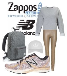 """""""Run the World in New Balance"""" by cami-lanfranconi-cl on Polyvore featuring moda, Herschel Supply Co., The Row, New Balance, Miss Selfridge, Topshop e NewBalance"""